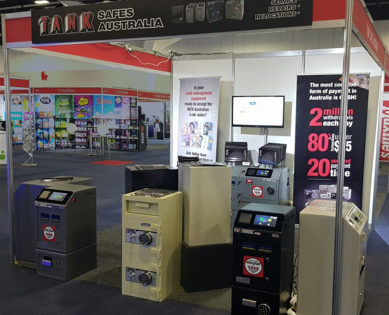 Tank Safes Australia at C&I Expo